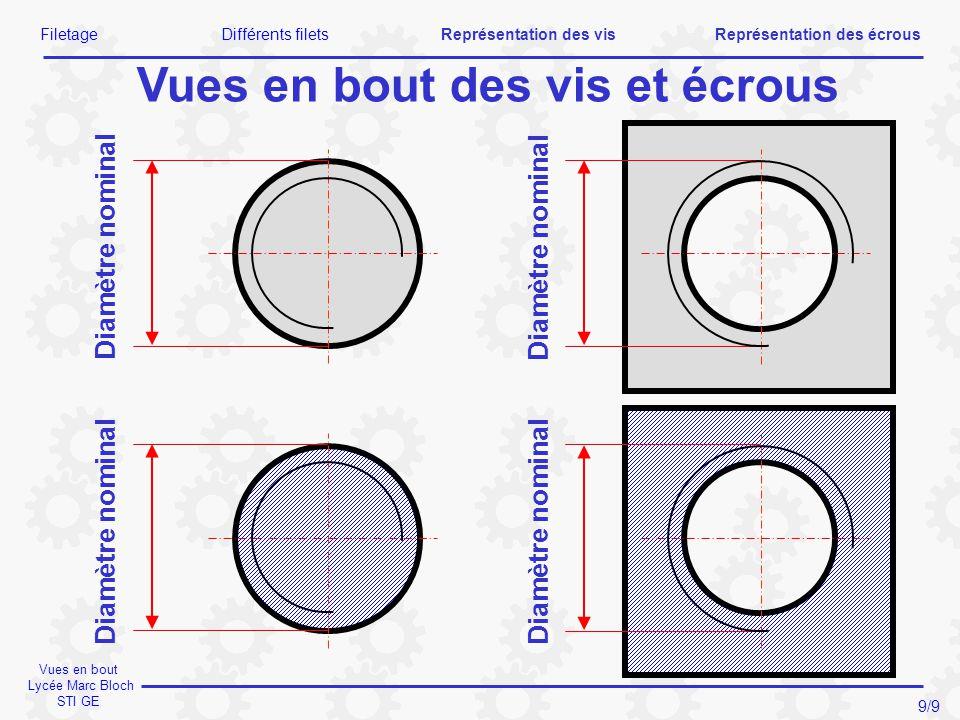Vues en bout Lycée Marc Bloch STI GE