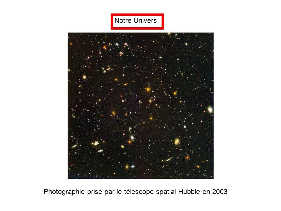 Notre Univers Photographie prise par le télescope spatial Hubble en 2003