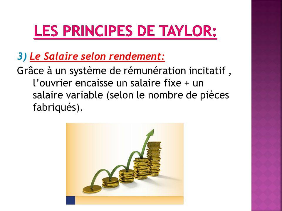 Les principes de Taylor: