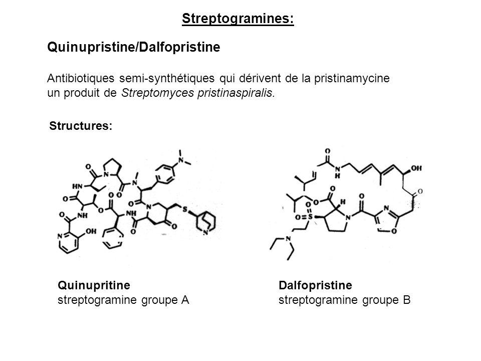Quinupristine/Dalfopristine