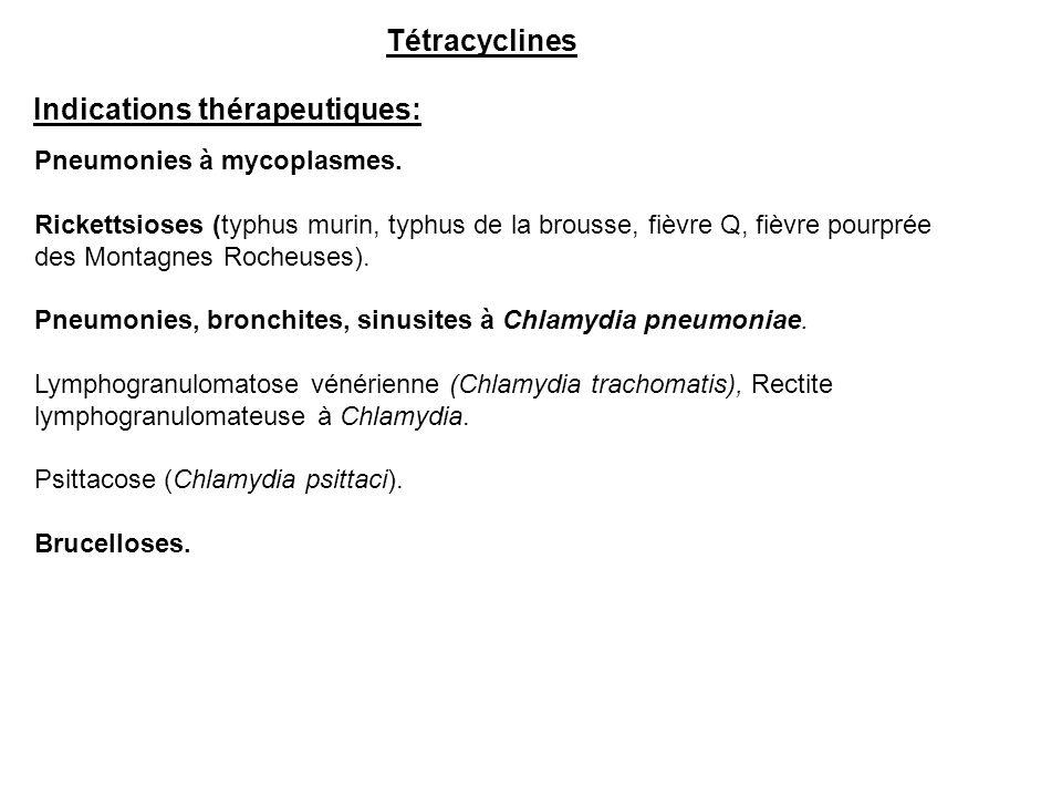 Indications thérapeutiques: