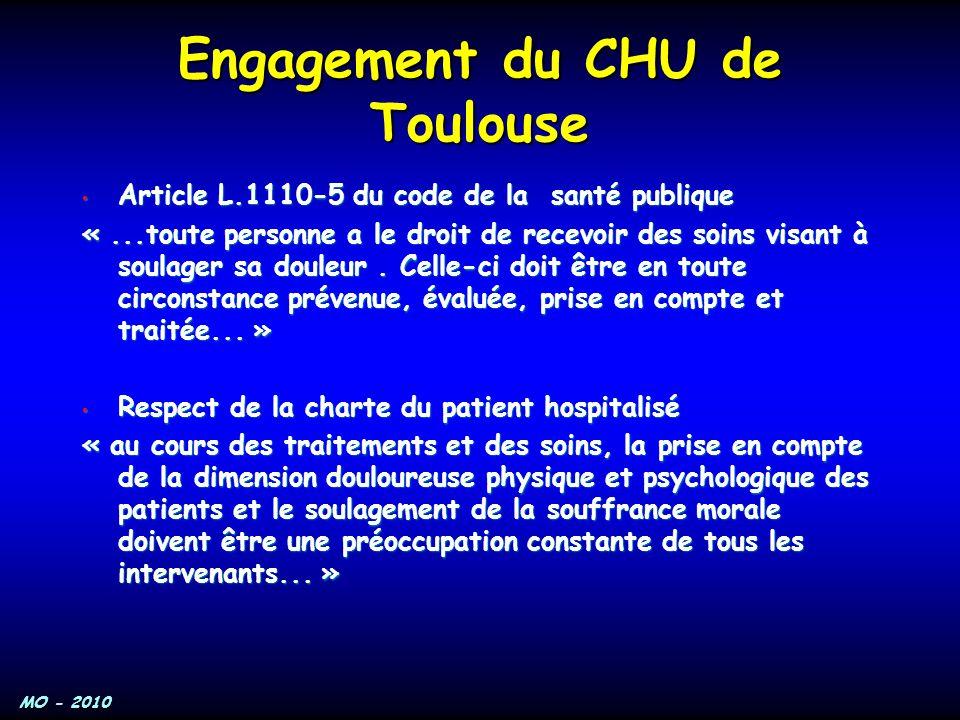 Engagement du CHU de Toulouse
