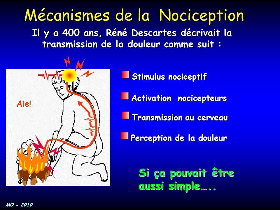 Mécanismes de la Nociception