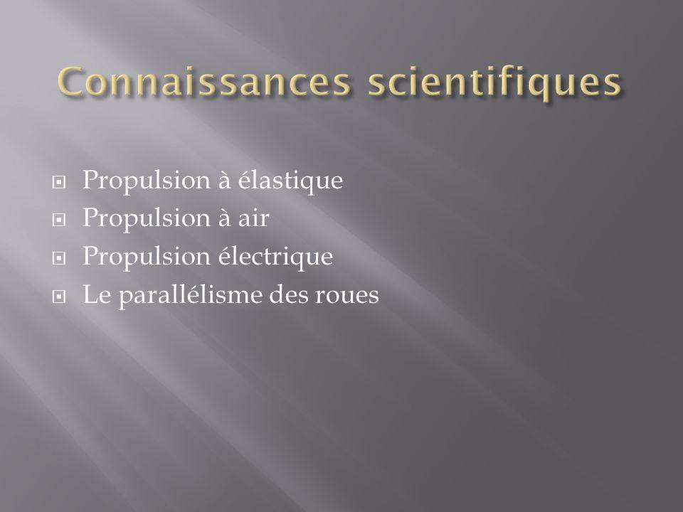 Connaissances scientifiques