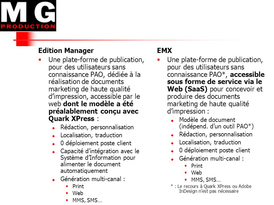 Edition Manager