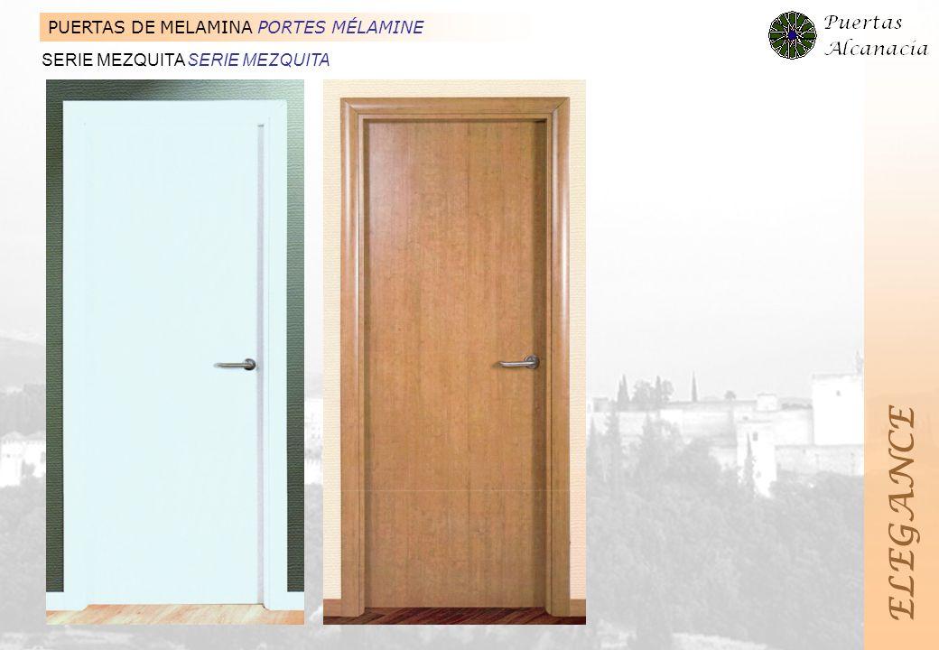 ELEGANCE PUERTAS DE MELAMINA PORTES MÉLAMINE
