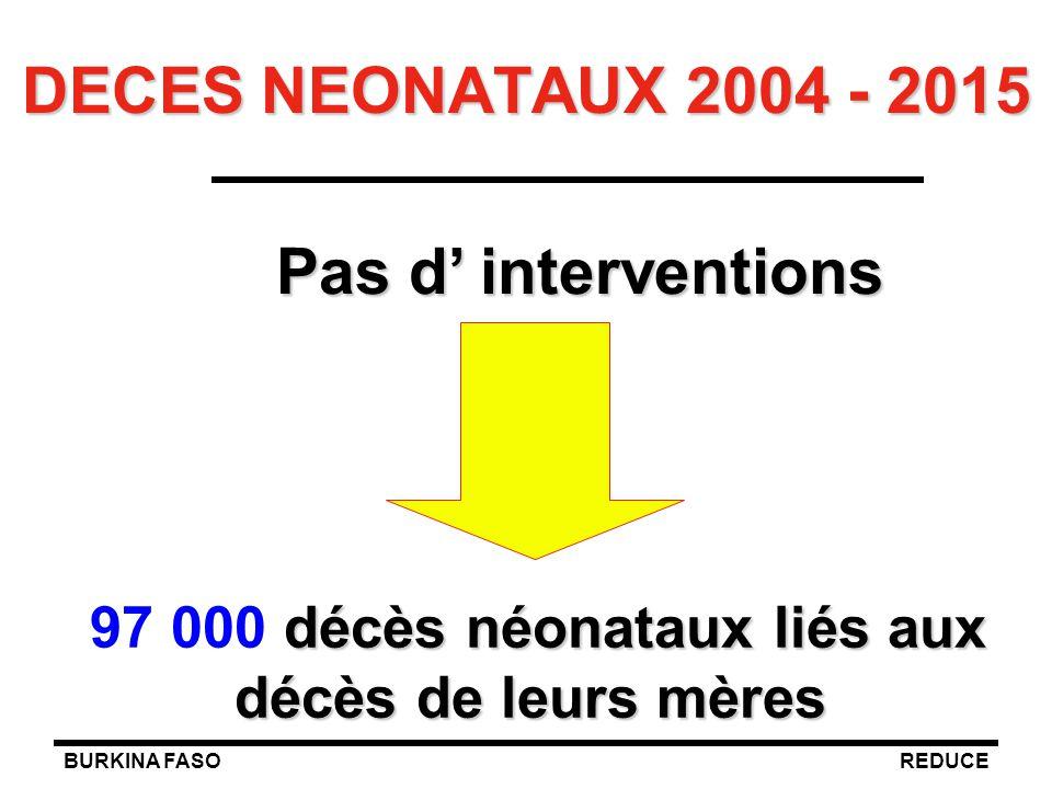 97 000 décès néonataux liés aux décès de leurs mères