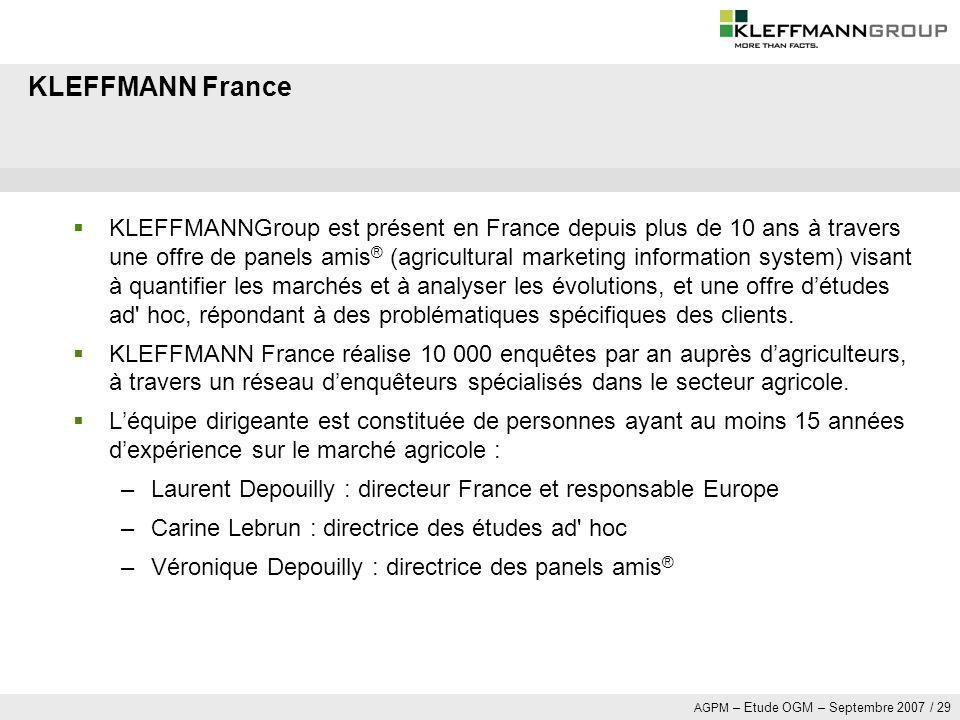 KLEFFMANN France