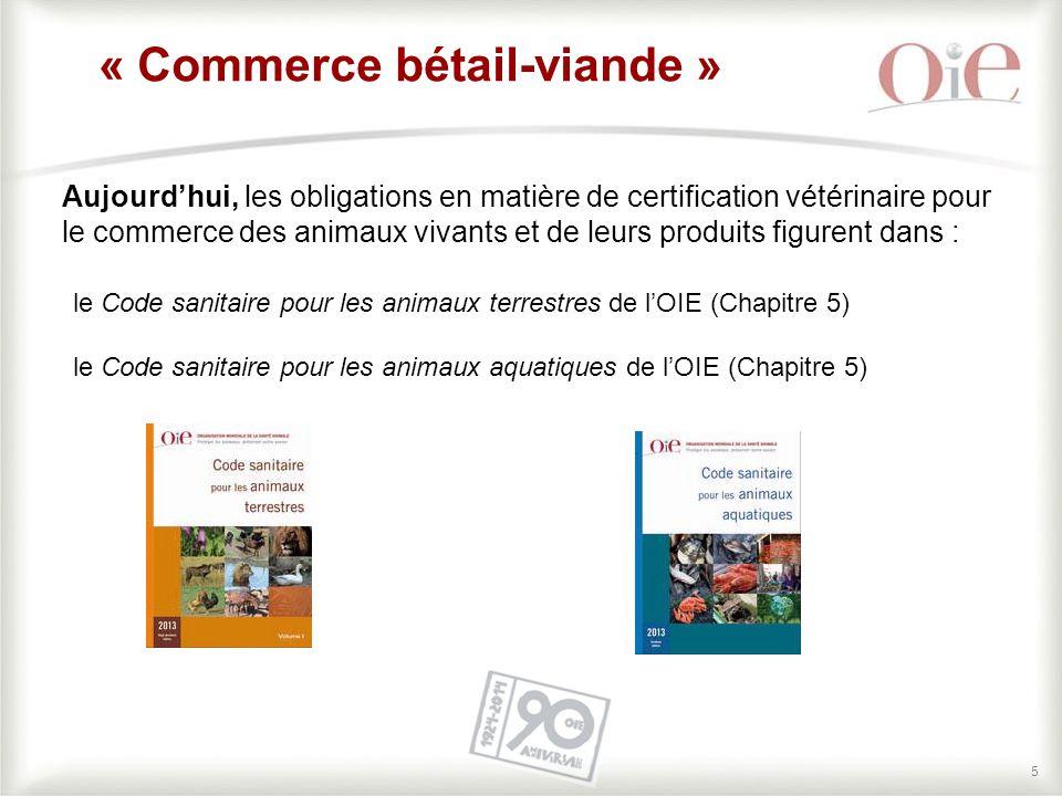 « Commerce bétail-viande »