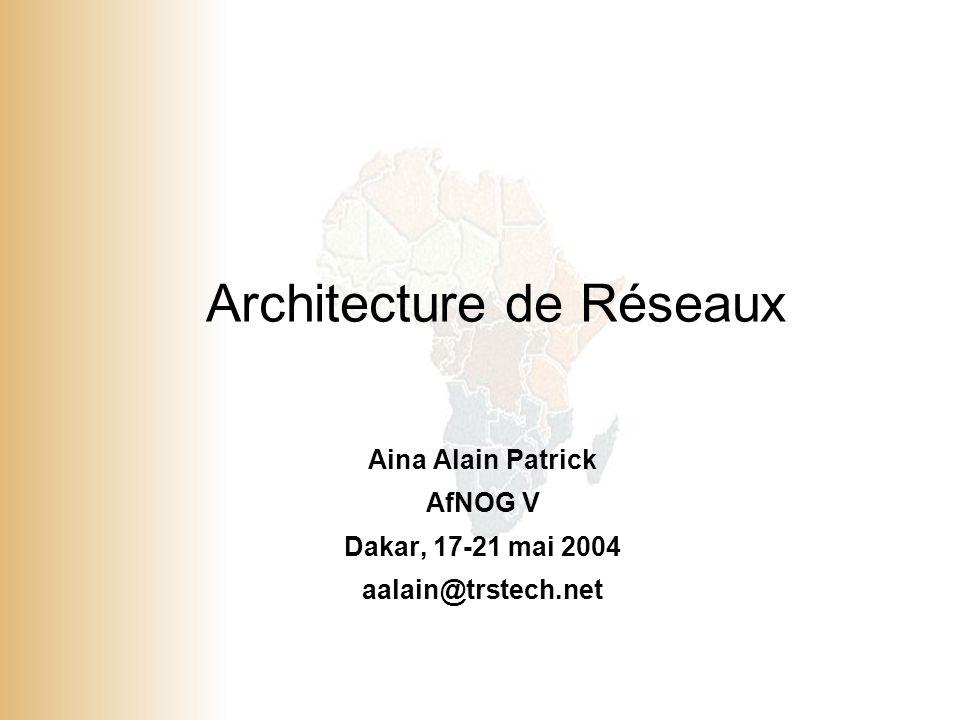Architecture de Réseaux