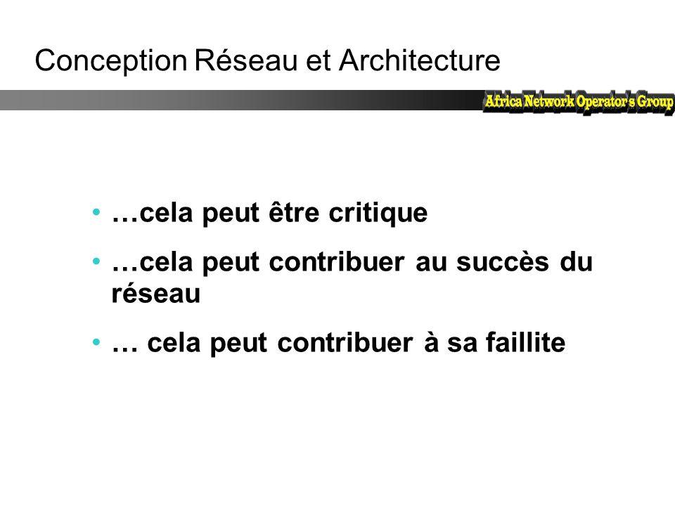 Conception Réseau et Architecture