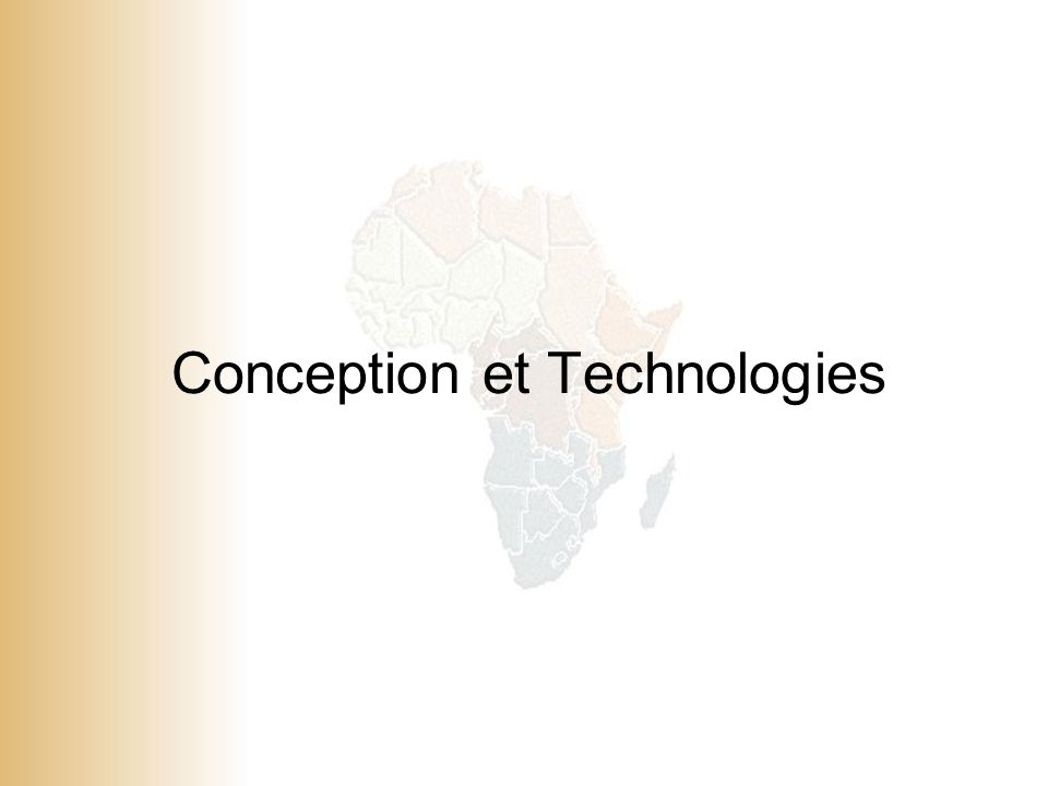 Conception et Technologies