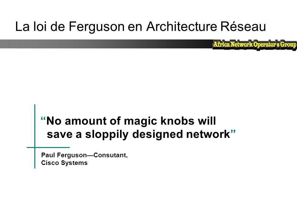 La loi de Ferguson en Architecture Réseau