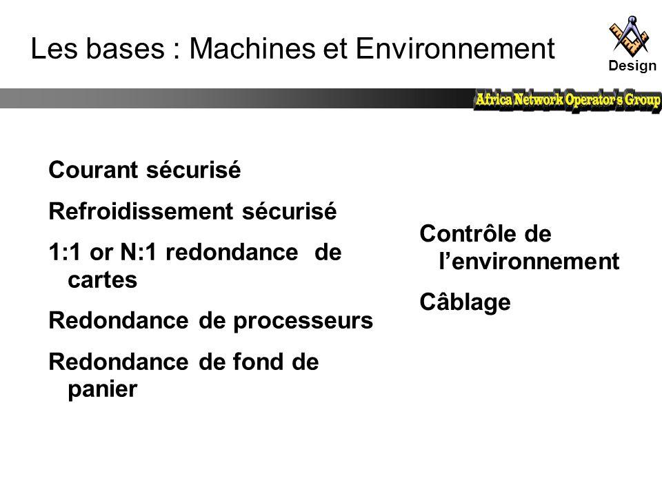 Les bases : Machines et Environnement