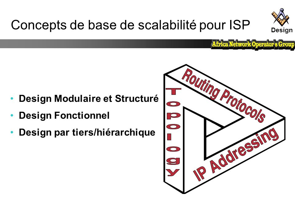 Concepts de base de scalabilité pour ISP
