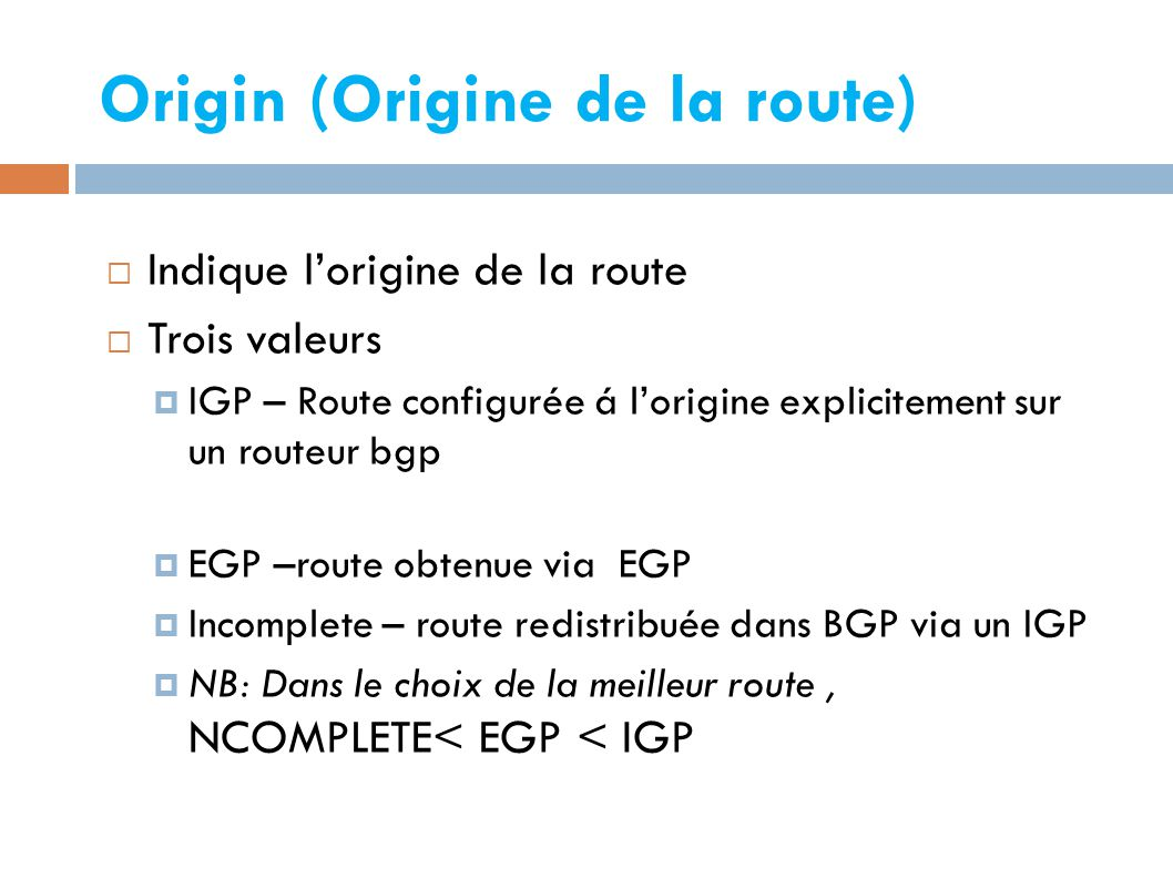 Origin (Origine de la route)‏