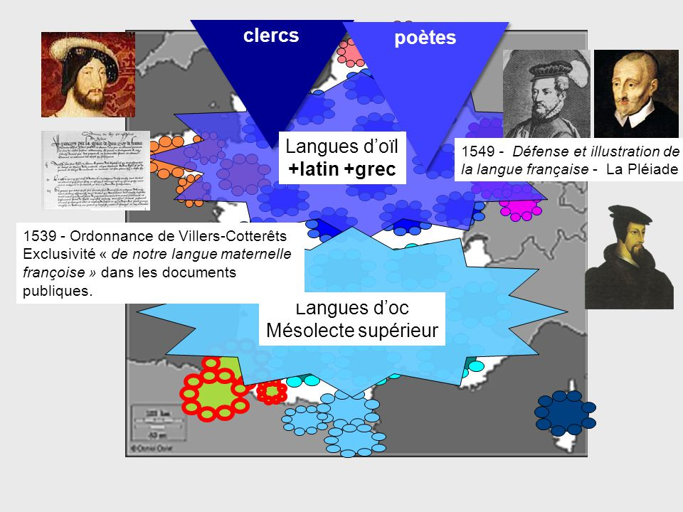 clercs poètes +latin +grec