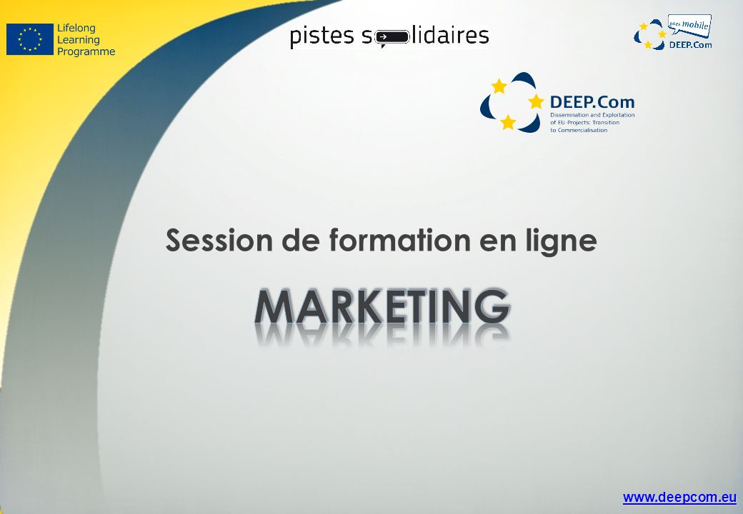 Session de formation en ligne
