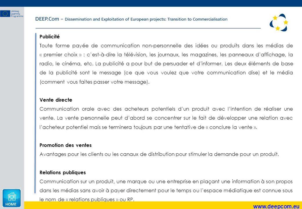 www.deepcom.eu Publicité
