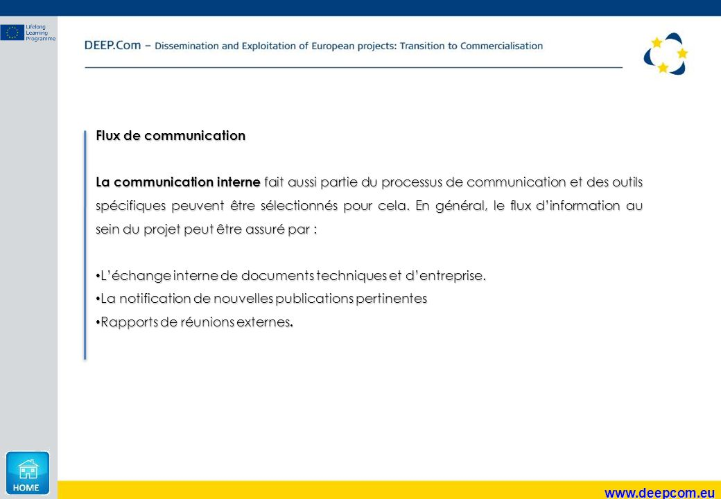 Flux de communication