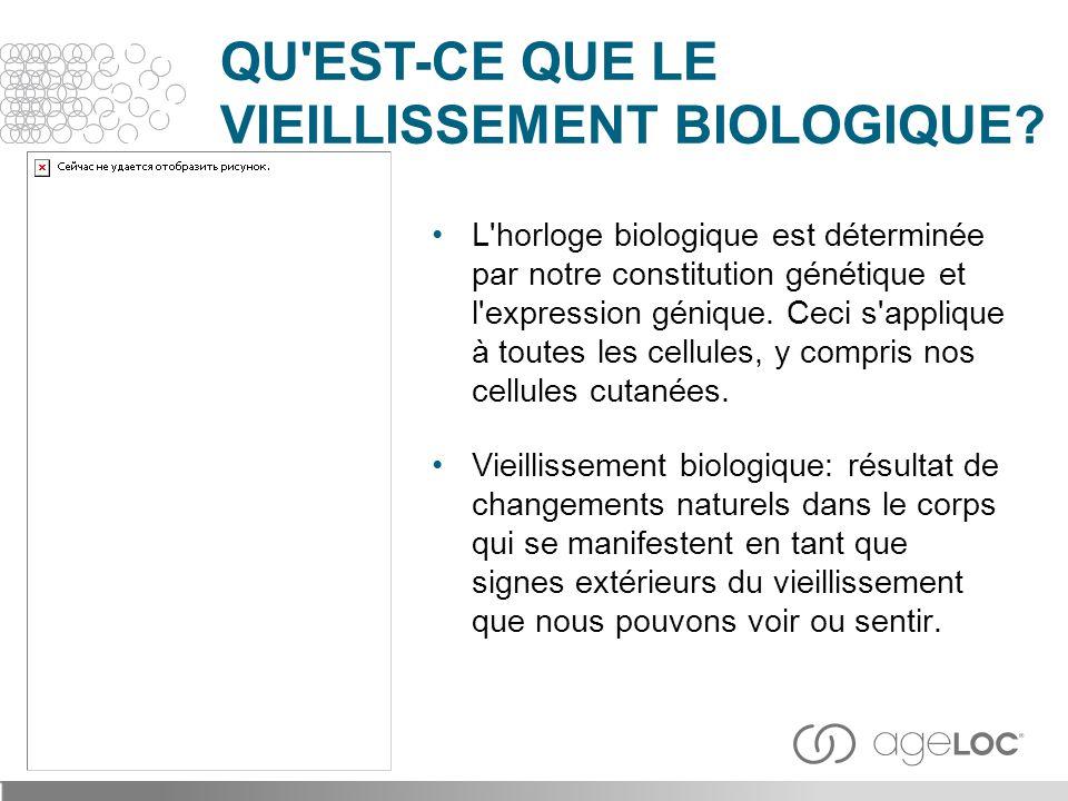 QU EST-CE QUE LE VIEILLISSEMENT BIOLOGIQUE