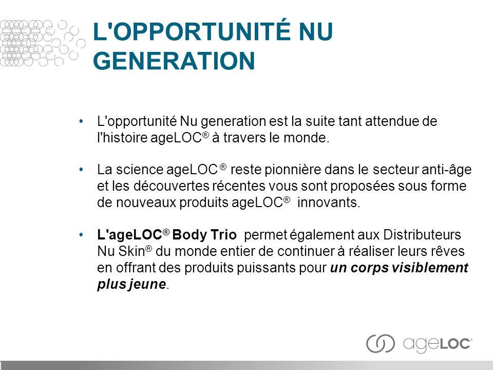 L OPPORTUNITÉ NU GENERATION