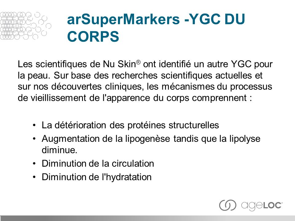 arSuperMarkers -YGC DU CORPS