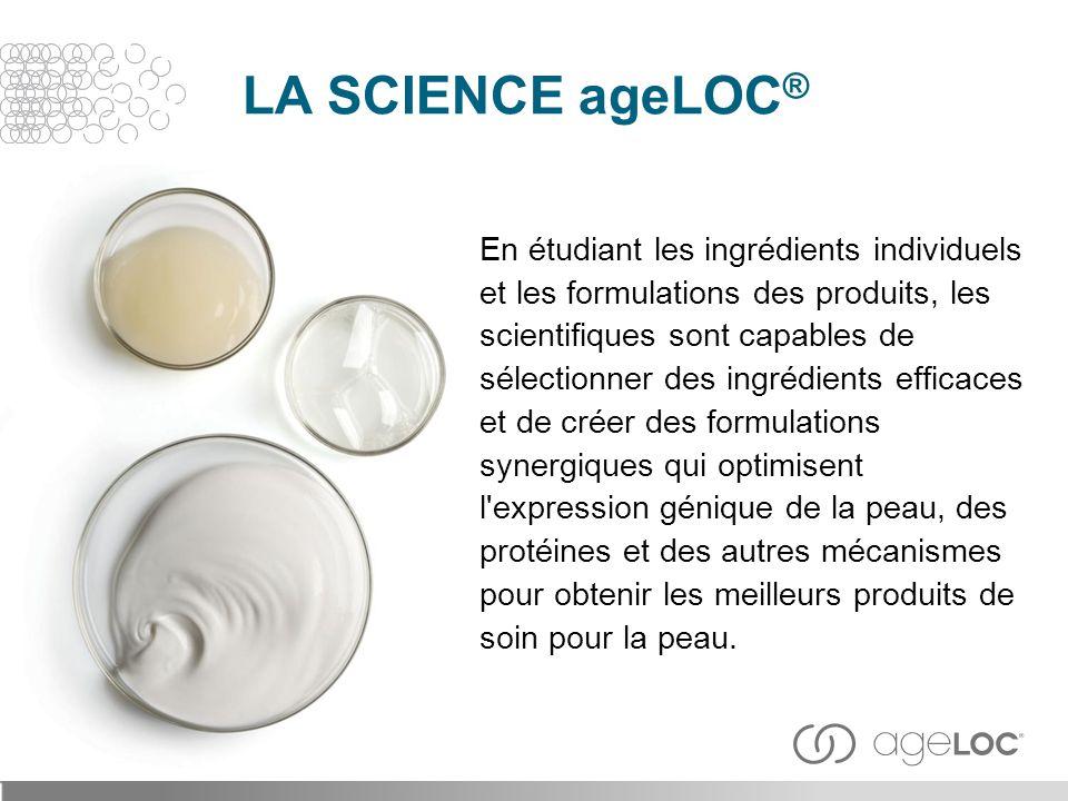 LA SCIENCE ageLOC®