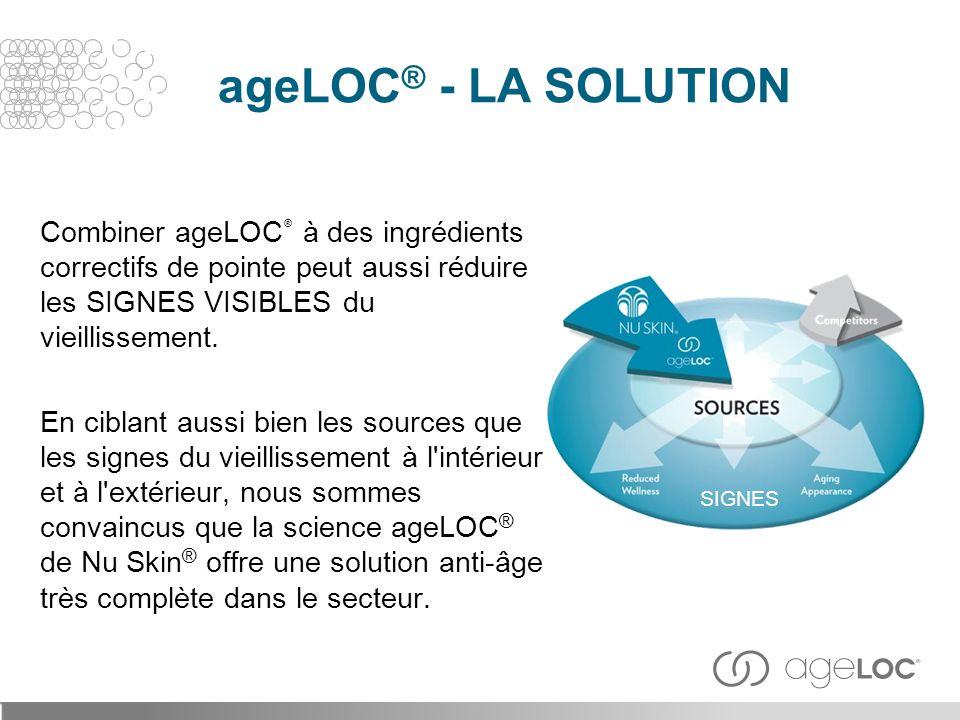 ageLOC® - LA SOLUTION