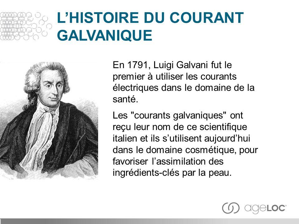 L'HISTOIRE DU COURANT GALVANIQUE