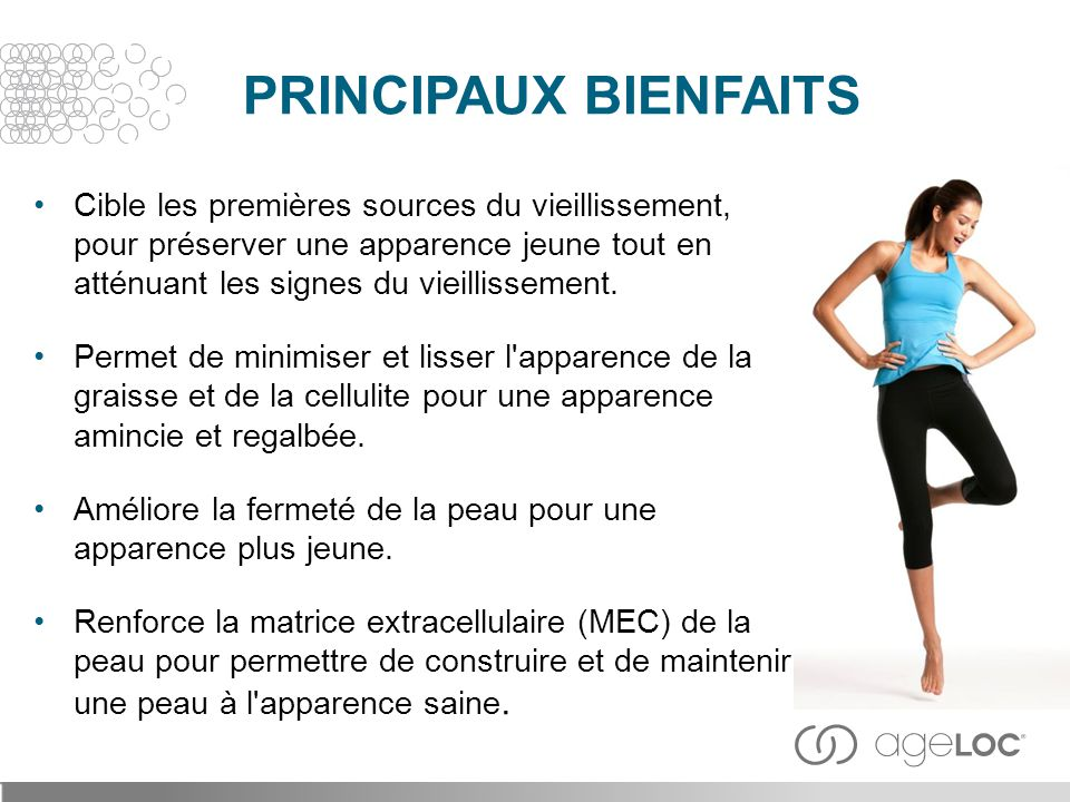 PRINCIPAUX BIENFAITS