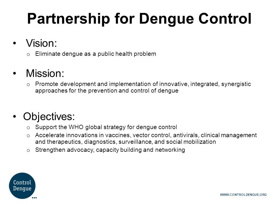 Partnership for Dengue Control