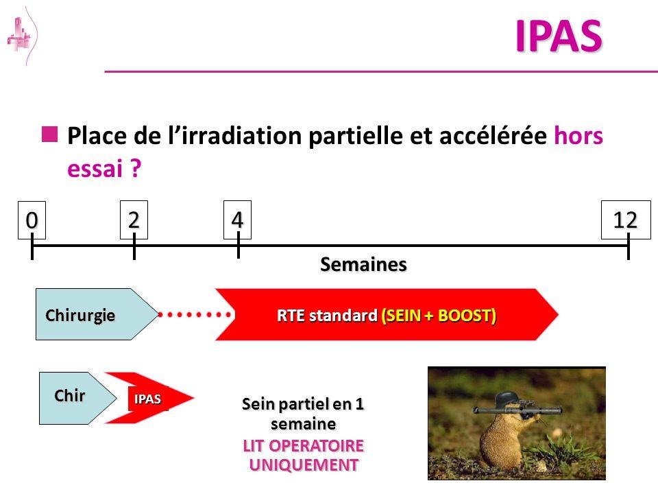 IPAS Place de l'irradiation partielle et accélérée hors essai 2 4 12