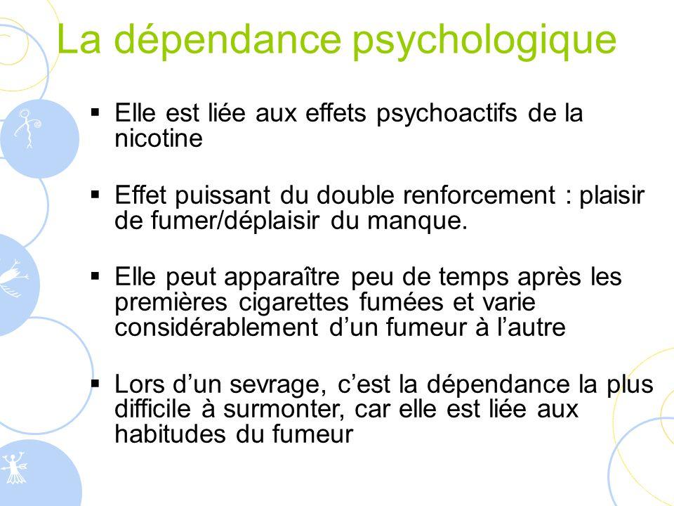 La dépendance psychologique