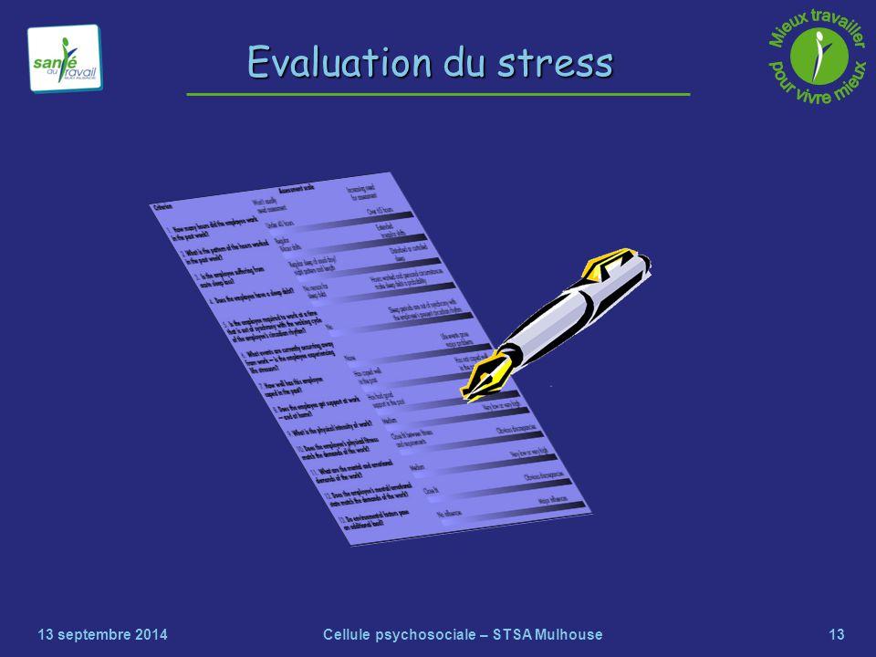 Cellule psychosociale – STSA Mulhouse