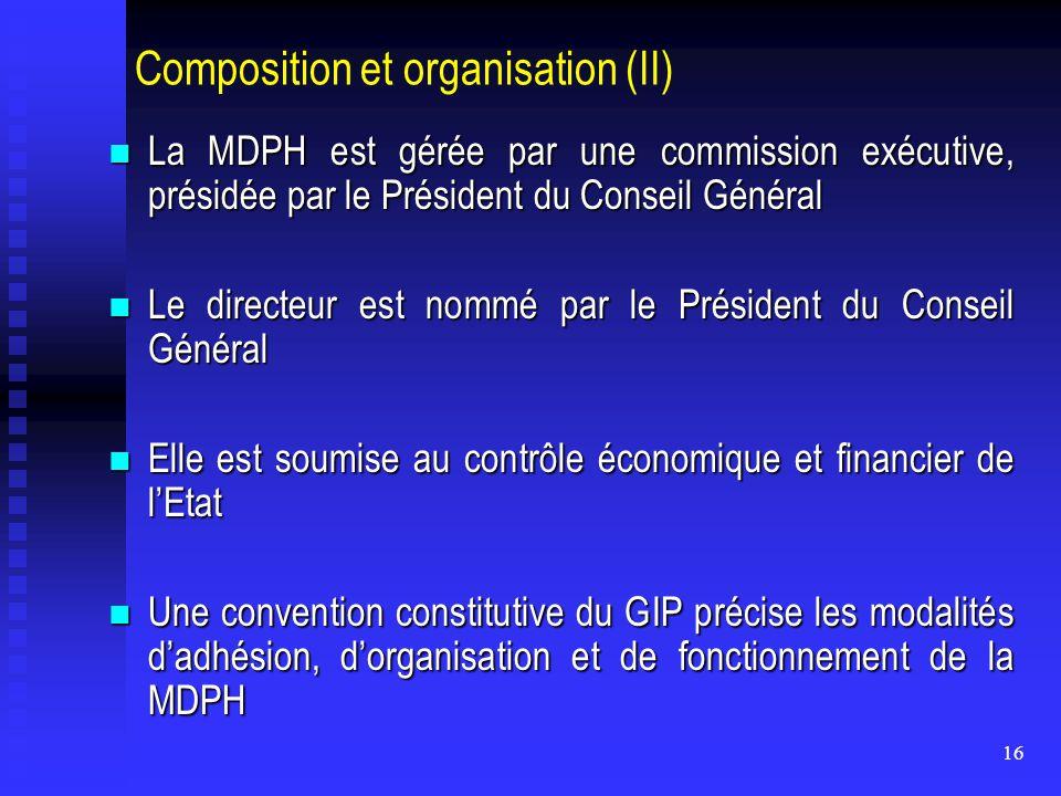 Composition et organisation (II)