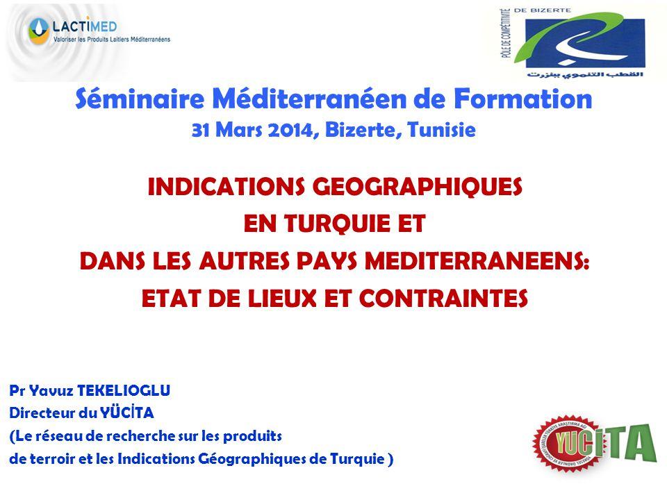 Séminaire Méditerranéen de Formation 31 Mars 2014, Bizerte, Tunisie