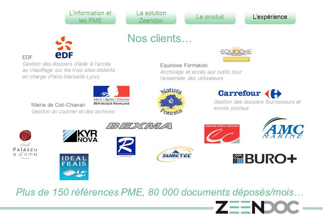 Nos clients… EDF. Gestion des dossiers d'aide à l'accès au chauffage sur les trois sites distants en charge (Paris-Marseille-Lyon)