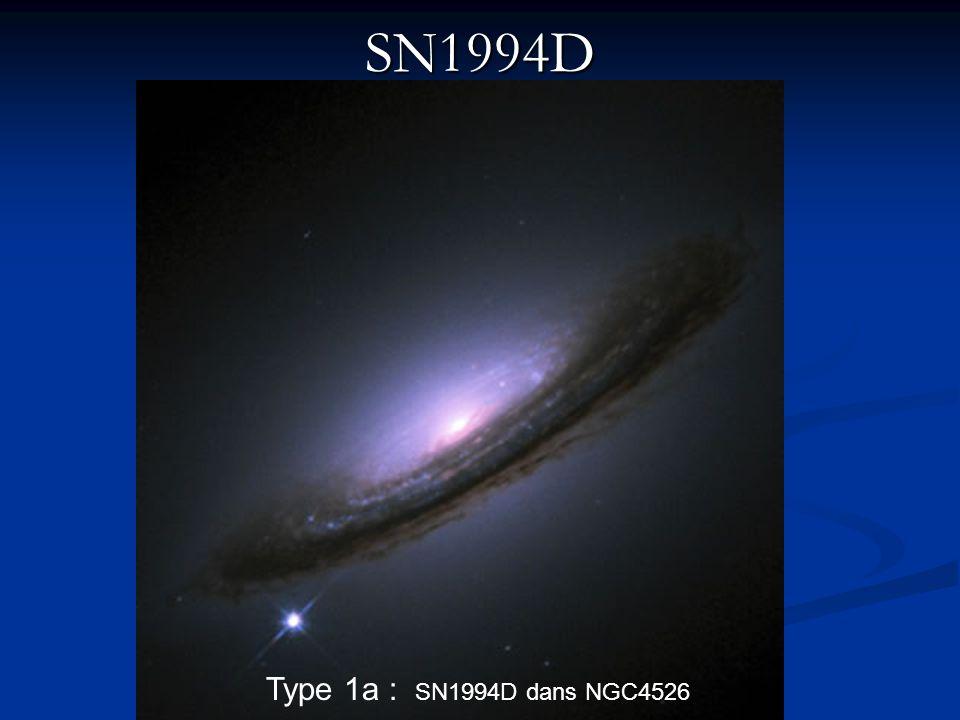 SN1994D Type 1a : SN1994D dans NGC4526