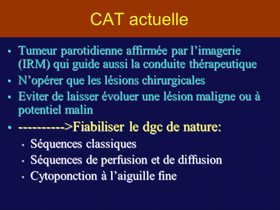 CAT actuelle ---------->Fiabiliser le dgc de nature: