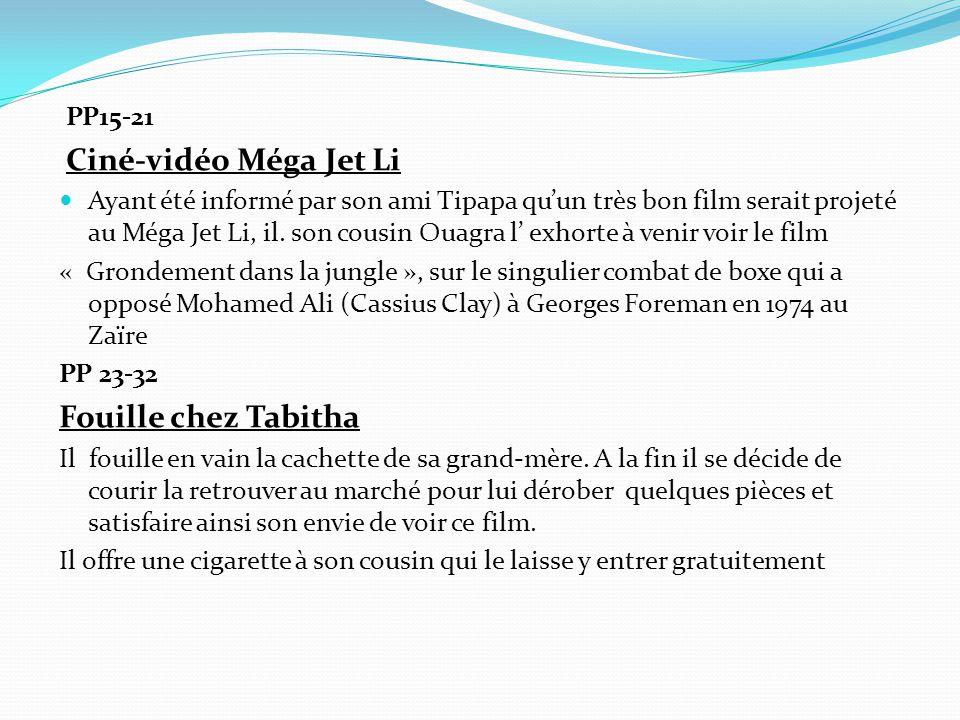 Fouille chez Tabitha PP15-21 Ciné-vidéo Méga Jet Li