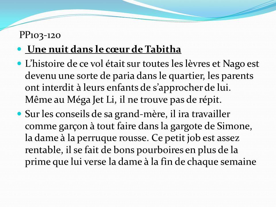 PP103-120 Une nuit dans le cœur de Tabitha.