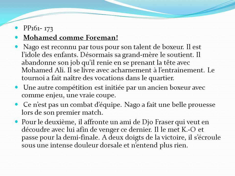 PP161- 173 Mohamed comme Foreman!