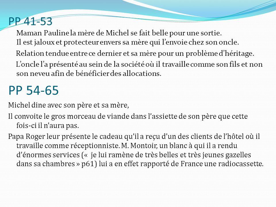 PP 41-53 Maman Pauline la mère de Michel se fait belle pour une sortie