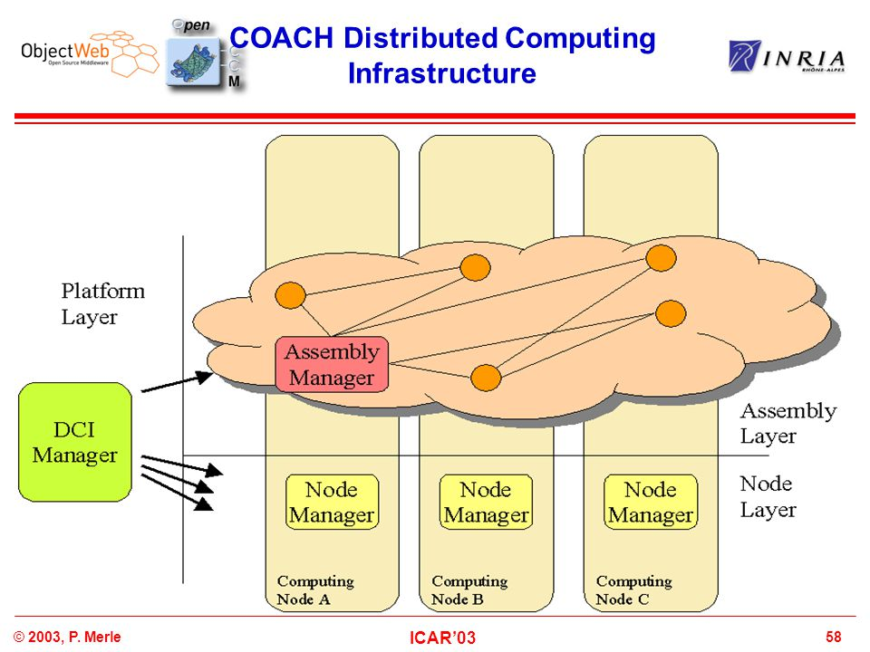 COACH Distributed Computing Infrastructure