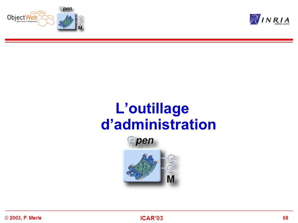 L'outillage d'administration