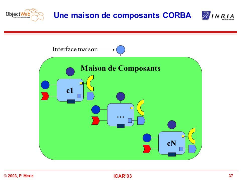 Une maison de composants CORBA