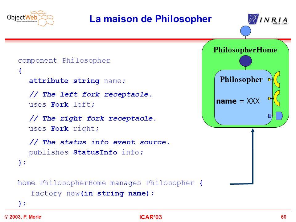 La maison de Philosopher