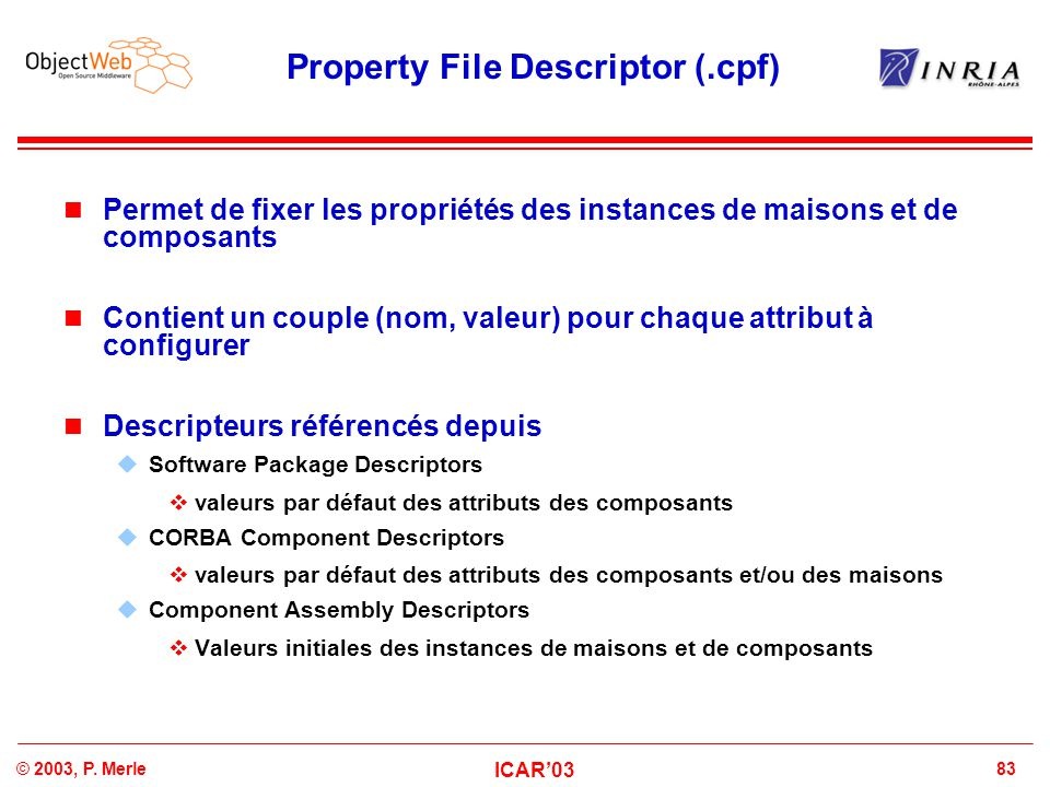 Property File Descriptor (.cpf)