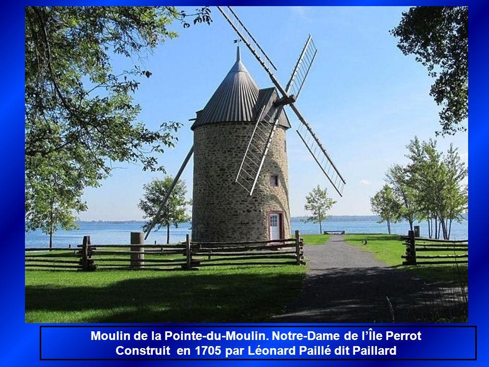 Moulin de la Pointe-du-Moulin. Notre-Dame de l'Île Perrot